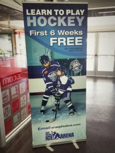 custom indoor retractable banner